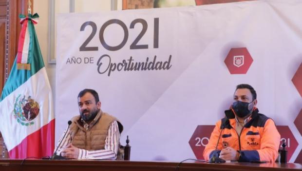 Ayuntamiento de Puebla mantiene calle 5 de Mayo liberada de comercio en vía pública