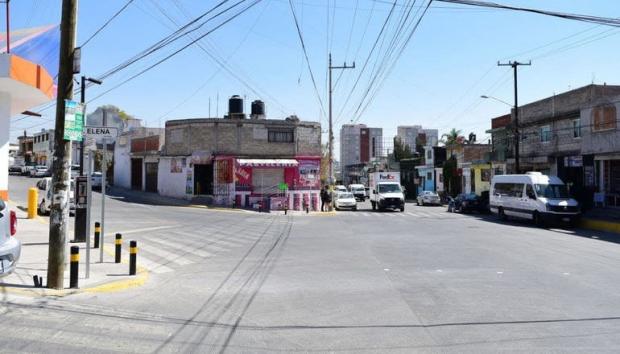 Ayuntamiento de Puebla concluye rehabilitación vial en Ignacio Romero Vargas