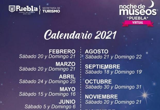 Turismo Municipal anuncia calendario de Noche de Museos 2021
