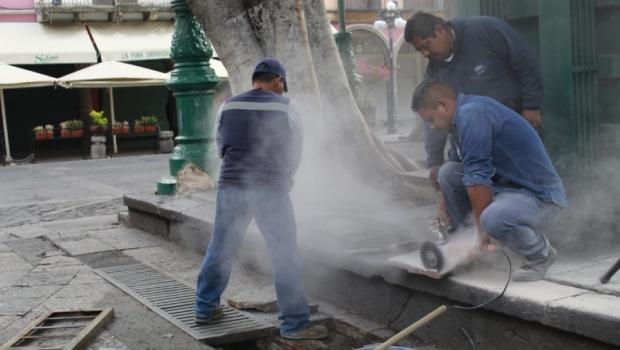 Reporta Ayuntamiento inversión histórica de obra pública para la ciudad de Puebla